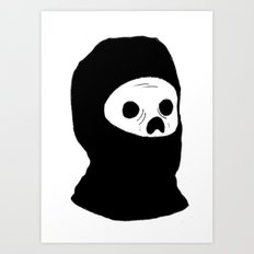 Stealth Zombie  Art Print