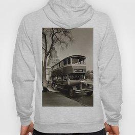 New York Vintage picture Bus (circa 1935) Hoody