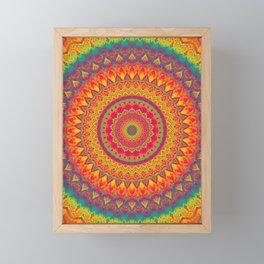 Mandala 507 Framed Mini Art Print