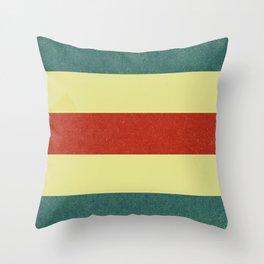 Nautical Flag Throw Pillow
