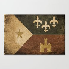Acadian Flag Canvas Print