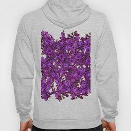 """Purple Hyacinth"" Garden Queen Floras Hoody"