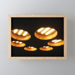 UFO Engines Framed Mini Art Print