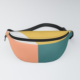 Abstract Geometric 18 Fanny Pack