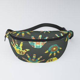 Colorful hands Fanny Pack