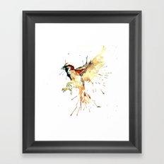 With my bow and arrow Framed Art Print