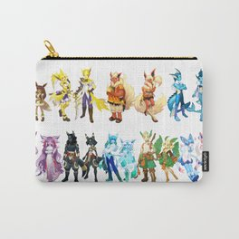 Eeveelutions Concept Art Carry-All Pouch