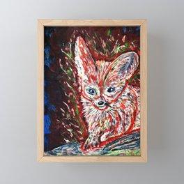 Fennec the Abstract Framed Mini Art Print