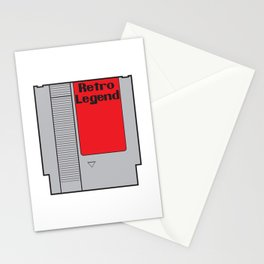 Retro Legend Gaming Quote Stationery Cards
