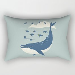 Fly in the sea Rectangular Pillow