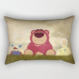 The Tragedy of Lotso Rectangular Pillow