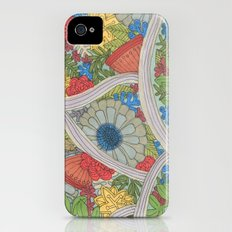 floricultural Slim Case iPhone (4, 4s)