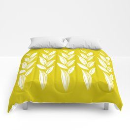 Eternity in Gold Leaf Comforters