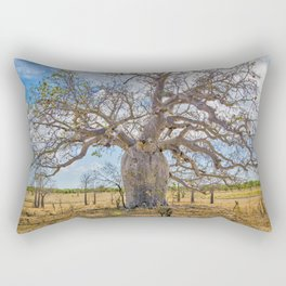 Boab and clouds Rectangular Pillow