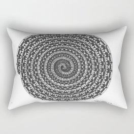 spiral 5 Rectangular Pillow