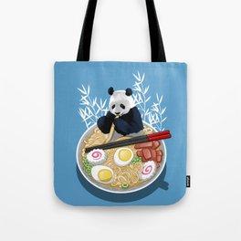 Ramen Panda Tote Bag