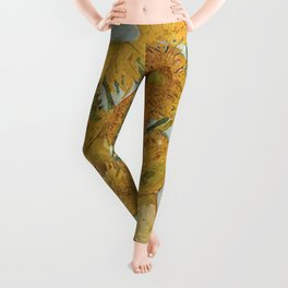 Vincent van Gogh's Sunflowers Leggings