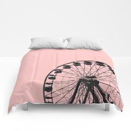 Ferris Wheel (Pink) Comforters