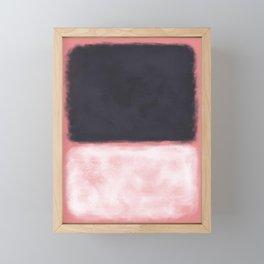Rothko Inspired #9 Framed Mini Art Print
