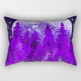 Twilight In The Forest Rectangular Pillow