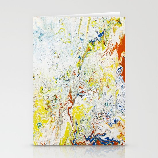 Gravity Painting 24 Stationery Cards