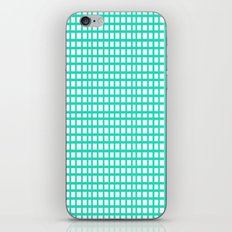 LINES in MINT iPhone & iPod Skin