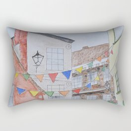A Street in York Rectangular Pillow