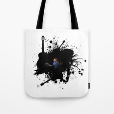 Blue Clapton Tote Bag