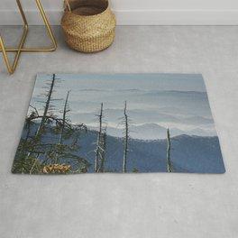 Smoky Mountain Vista as seen from Clingman's Dome Rug