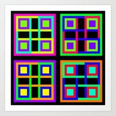 4, or Four Art Print