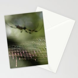 Golden Orb Weaver at Wekiwa Springs, FL Stationery Cards