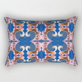 Feng Shui Synergy Sacred Geometry Portal Print Rectangular Pillow