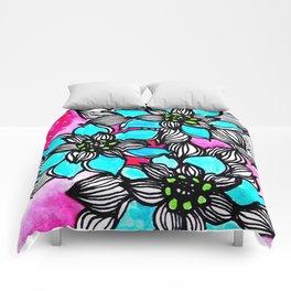 Flower Power 3 Comforters