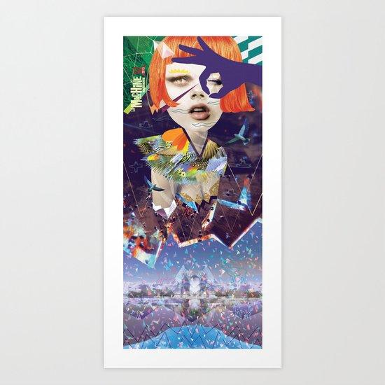 LA MACHINE #1 Art Print