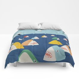 Shark Park Comforters