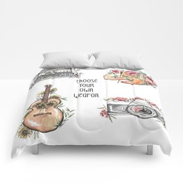 Weapon of Choice Comforters