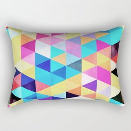 Vivid Pattern XV Rectangular Pillow