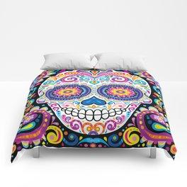 Sugar Skull (Cosmos) Comforters