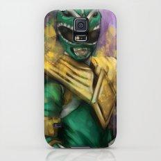 Green Mighty Morphin Power Ranger Galaxy S5 Slim Case