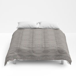 Elegant Gray Geometric Southwestern Pattern - Luxury Comforters