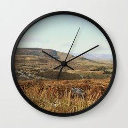 Where Heaven Meets Earth Wall Clock