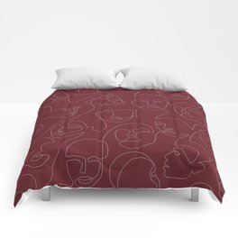 Rich and Bold Comforters