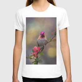 Anna's Hummingbird Springtime blooms T-shirt