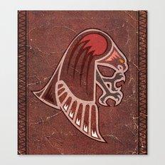 Aboriginal Hawk Attack Canvas Print