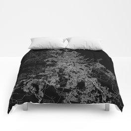 Brisbane map Australia Comforters
