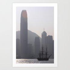 The Lost Pirate Art Print