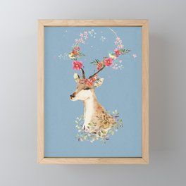 Doe Framed Mini Art Print