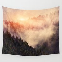 history Wall Tapestries featuring In My Other World by Tordis Kayma