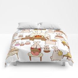 Baking buns Comforters