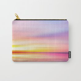 Abstract Sunset VII Carry-All Pouch